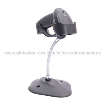 China Hands Free Barcode Scanner Reader With Bracket, High Speed 1D