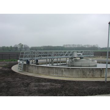 China ZBGX Perimeter Drive Sludge Scraper & Suction Machine