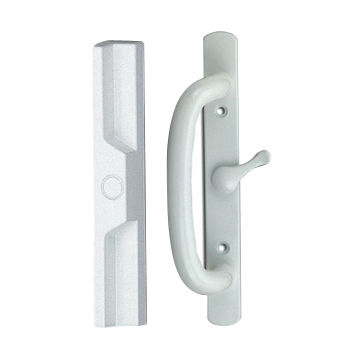 Taiwan Sliding Door Lock Kit With Solid Interior 55 Inch Pull
