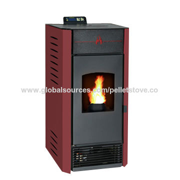 China Wood Pellet Stove ,indoor Using And Eco Friendly Auto Feeding And  Igniter ...