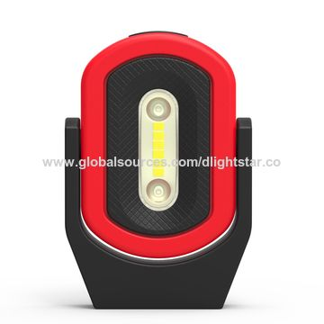 ... China Rechargeable LED Work Lamp With Red And Blue Warning Light And  SOS Function ...