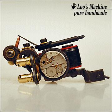 New brand custom Luo\'s Machine handmade Tattoo Machine Gun Set ...