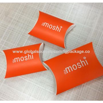 China Small size colorful new design pillow box for gifts