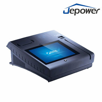 Finger print touch screen pos, built in printer, with NFC