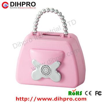 China Abs Digital Counting Plastic Handbag Shape Piggy Bank Money Box