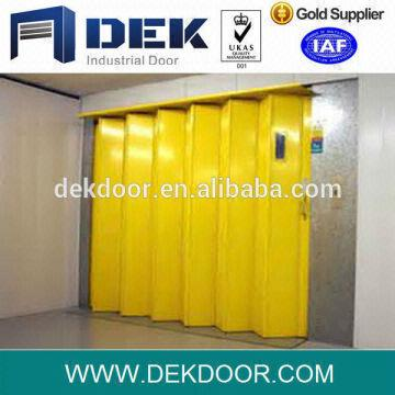 Steel Accordion Folding Doors Material Galvanized Steel Or