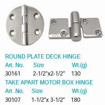 stainless steel marine hardware ship yacht parts deck hinge