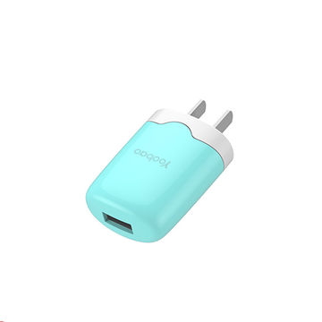 Yoobao original factory sell colorful US wall chargers