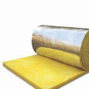 Glass wool blanket with al foil global sources for Fiberglass wool insulation