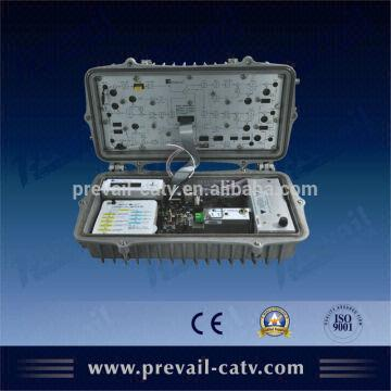optical node 1.with AGC SNMP SMPS 2.CPU control LCD display the ...