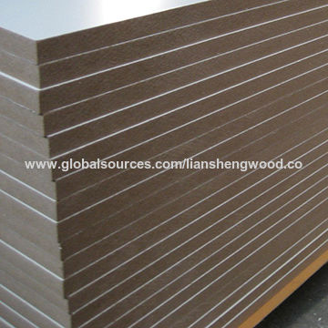 E2 white melamine MDF board for furniture | Global Sources
