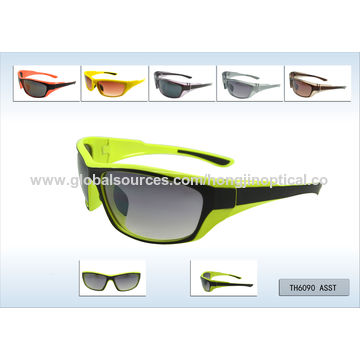 8ae14dad633 ... China Outdoors Eyewear frame Riding Running Fishing Driving Sports  Sunglasses with UV Mirrored Lens ...