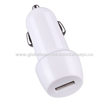 China One Usb Port And Fix Cable Car Charger 12 To 24v Dc Input