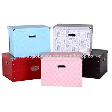 China Storage Boxes from Xiamen Manufacturer Xiamen Botop Paper