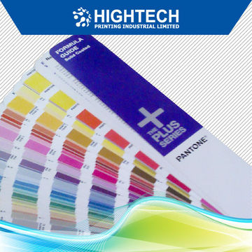 Sheet-fed Ink - Color shade guide USA pantone color chart books ...