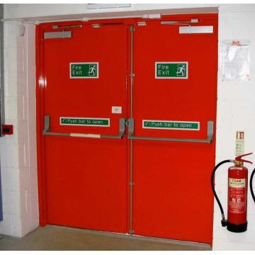 Exceptionnel China UL Listed Fire Door Apartment Fire Rated Door Fire Exit Door With  Glass