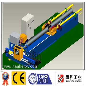 induction pipe bending machine for standard gas and oil pipe