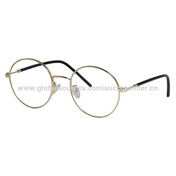 abaaebcbfd6f China High Quality Metal Optical Frames for women with round shape ...