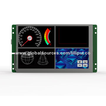 Graphic TFT LCD display modules with UART port, support RS-232/RS-485