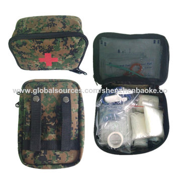 Jungle adventure military first aid kit with belts   Global Sources