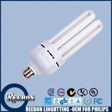 China Street Light Cfl 4u T4 30w Tri Phosphor U Shape Fluorescent Bulb