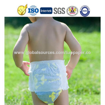 pull up diapers breathable cotton backsheet comfortable wearing