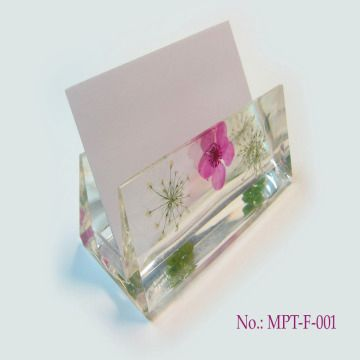Handmade business card holder with dried flower mpt f 001 global handmade business card holder china handmade business card holder colourmoves