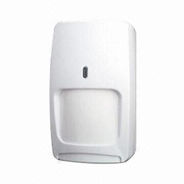 China Dual Technology Pir And Microwave Motion Detector 7 6x7 6m Detection