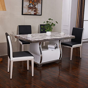 Contemporary Marble Dining Table Legs Artificial