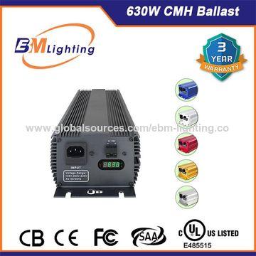 China Ceramic Metal Halide 630W DE Profession Manufacturer EBM CMH Ballast