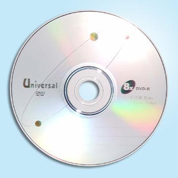 Taiwan Universal DVD R 8X Disc