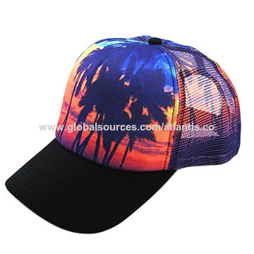 80366c66 China Customized hot sublimation mesh trucker hats on Global Sources