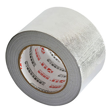 China Heavy Duty Silver Fiberglass Cloth Insulation Reinforced