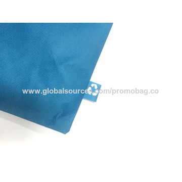 China Simple and practical nonwoven messenger bag, PP nonwoven lamination messenger bag