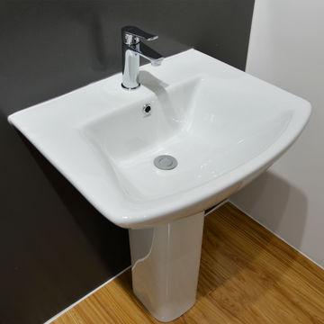 China Huida Rectangle Shape Standing, Bathroom Basin Sink