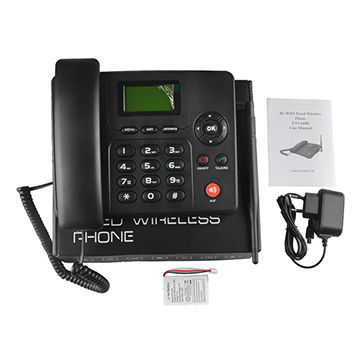 China WIFI/4G VoLTE lte 4g gsm desktop phone on Global Sources