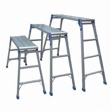 China Aluminum Working Platform Ladders 50cm Scaffolding Height EN131 Mark  sc 1 st  Global Sources & Aluminum Working Platform Ladders 50cm Scaffolding Height EN131 ... islam-shia.org
