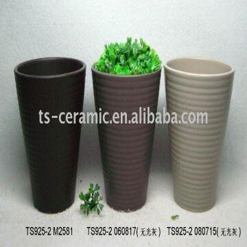 ceramic pot stoneware artificial flower pot | global sources