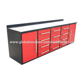 Surprising Model 12D 2 10 Ft Work Bench Tool Cabinet Global Sources Caraccident5 Cool Chair Designs And Ideas Caraccident5Info