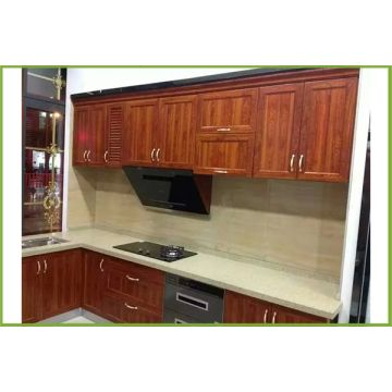 Full aluminium waterproof kitchen hanging cabinets design ...