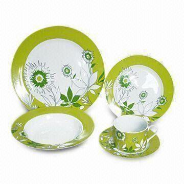 Elegant Dinner Set China Elegant Dinner Set  sc 1 st  Global Sources & Elegant Dinner Set Made of Ceramic and Porcelain Customized Prints ...