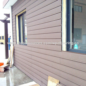 Durable Non Fading Plastic Wpc Outdoor Wall Panels Global Sources