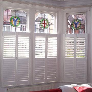 Decorative Indoor Louver Window Cabinet Shutters China