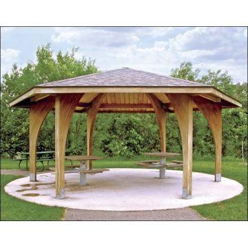 beautiful garden wood outdoor gazebo