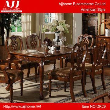 American Style Antique Wooden Dining Table Dk29 Global Sources