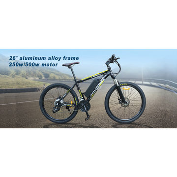 China Import cheap wholesale 26'' mountain electric bicycle bike