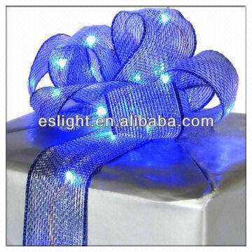 Led Flexible Silk Light Ribbonbattery Powered Led Ribbon Lights