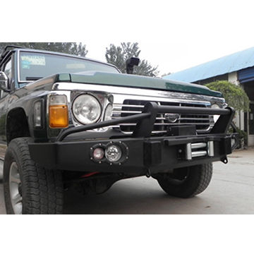 China Front Bumper for Nissan Patrol Y60 on Global Sources