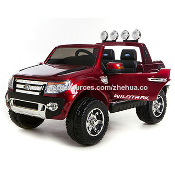 China 2018 New Ford Ranger Licensed Ride On Car Electric Kids 2 Seater 4g