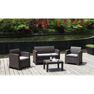 Outdoor Plastic Rattan Sofa Global Sources
